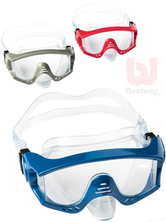 BESTWAY Splash Tech maska potápěčská 14+ různé barvy do vody 22044