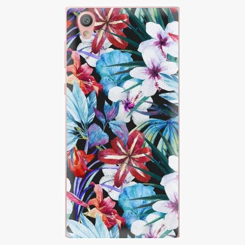Plastový kryt iSaprio - Tropical Flowers 05 - Sony Xperia L1