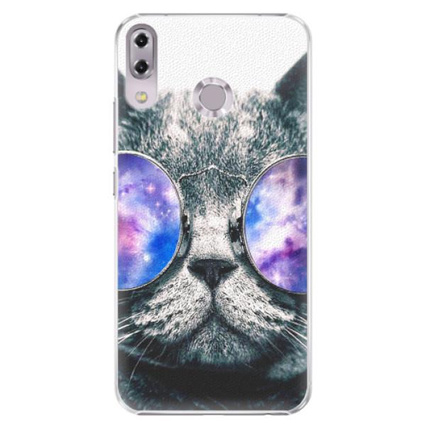 Plastové pouzdro iSaprio - Galaxy Cat - Asus ZenFone 5 ZE620KL