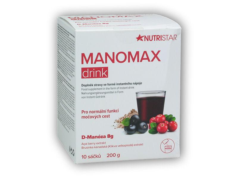 Manomax drink 10x sáček 200g