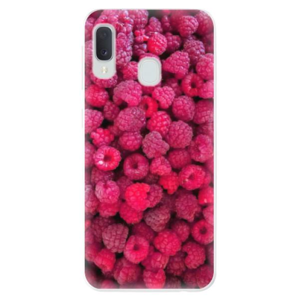 Odolné silikonové pouzdro iSaprio - Raspberry - Samsung Galaxy A20e