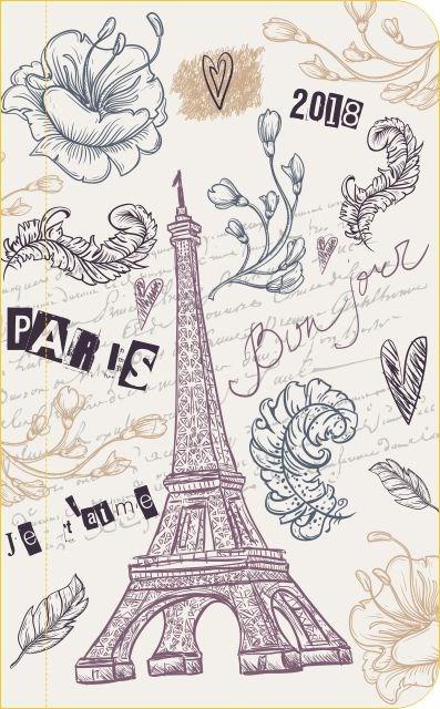 Kapesní diář - Eiffelova věž