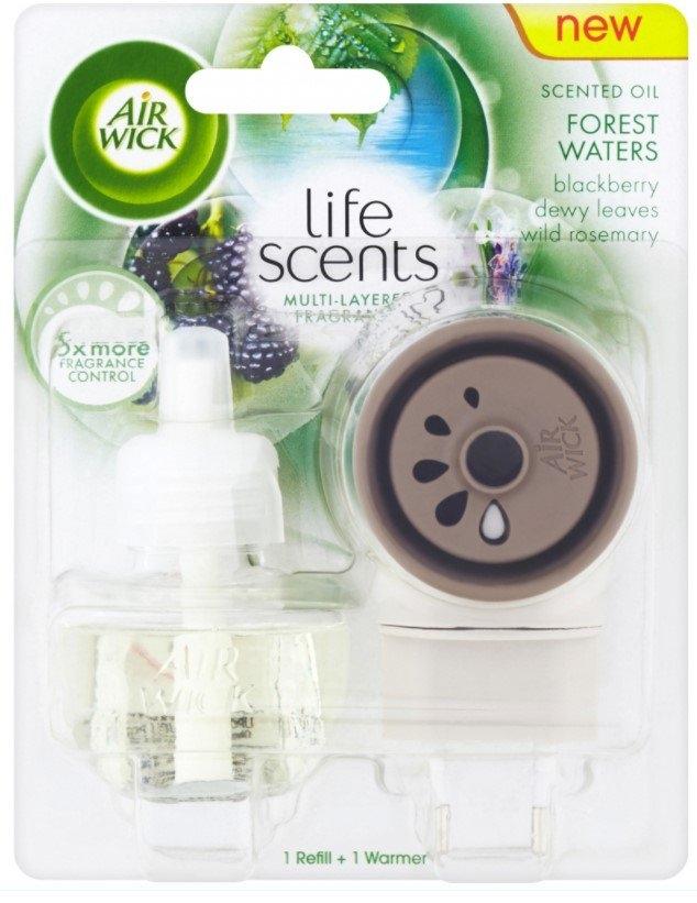 Airwick Life Scents Elektrický osvěžovač vzduchu strojek a náplň lesní potok 19 ml