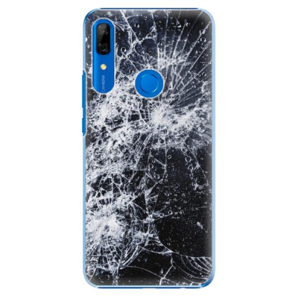 Plastové pouzdro iSaprio - Cracked - Huawei P Smart Z