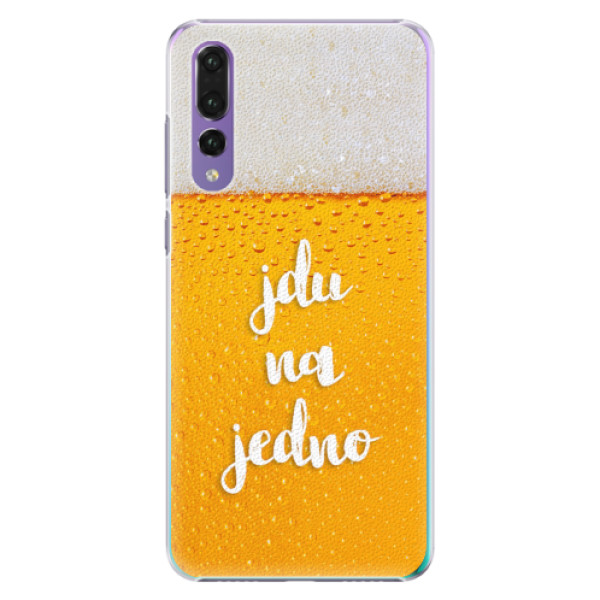 Plastové pouzdro iSaprio - Jdu na jedno - Huawei P20 Pro