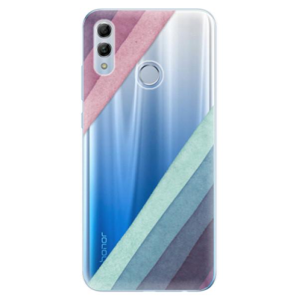 Odolné silikonové pouzdro iSaprio - Glitter Stripes 01 - Huawei Honor 10 Lite