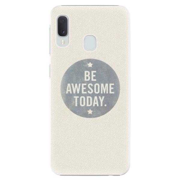 Plastové pouzdro iSaprio - Awesome 02 - Samsung Galaxy A20e