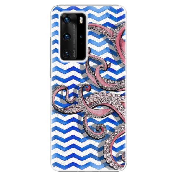 Plastové pouzdro iSaprio - Octopus - Huawei P40 Pro