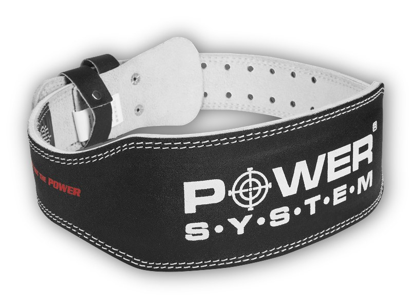 PowerSystem opasek POWER BASIC - BLACK-l-92-113cm