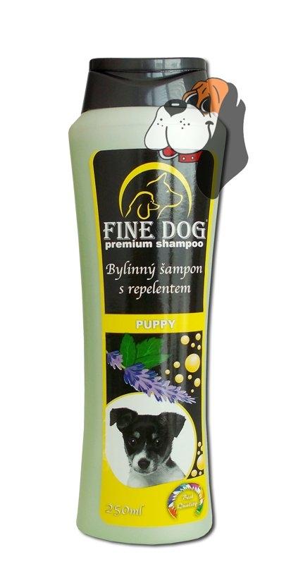 Puppy bylinný šampón s repelentem 250 ml
