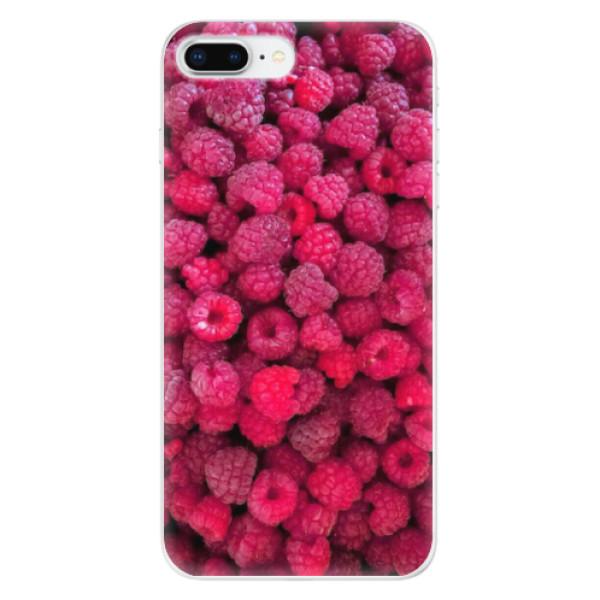 Odolné silikonové pouzdro iSaprio - Raspberry - iPhone 8 Plus