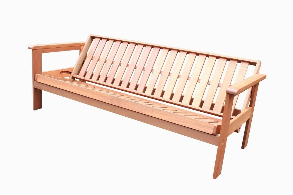 Zahradní rozkládací lavice FUTON
