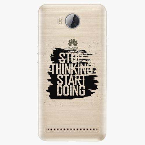 Plastový kryt iSaprio - Start Doing - Huawei Y3 II
