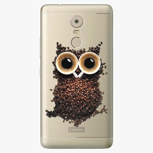 Plastový kryt iSaprio - Owl And Coffee - Lenovo K6 Note