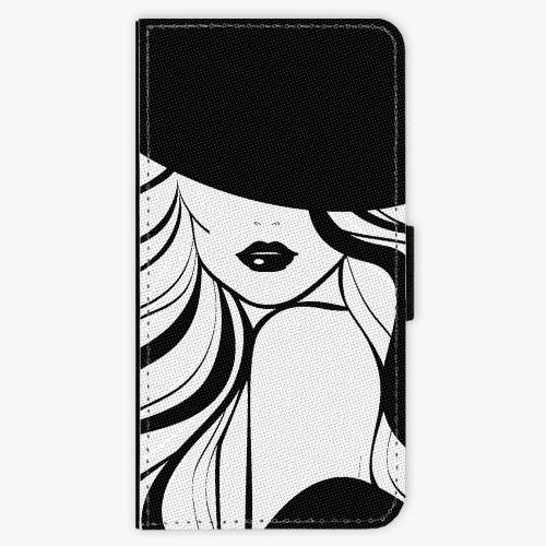Flipové pouzdro iSaprio - First Lady - Huawei P9