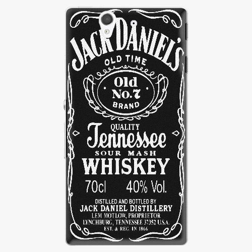 Plastový kryt iSaprio - Jack Daniels - Sony Xperia Z