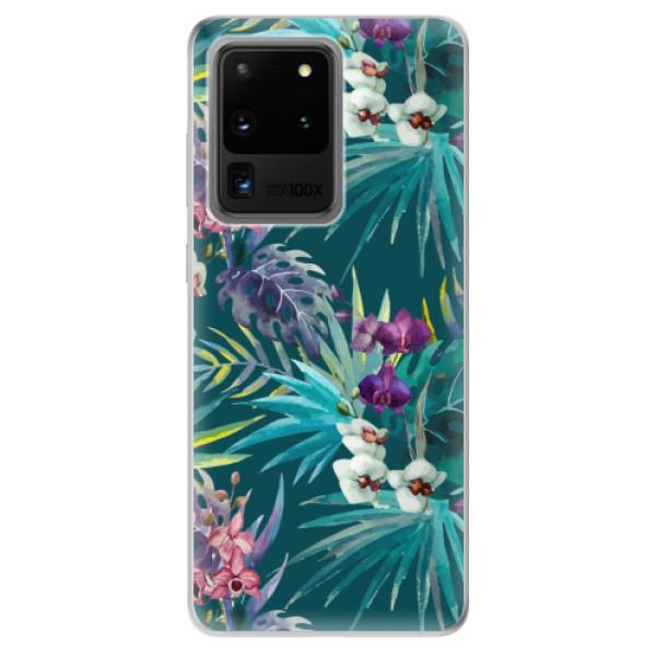 Odolné silikonové pouzdro iSaprio - Tropical Blue 01 - Samsung Galaxy S20 Ultra