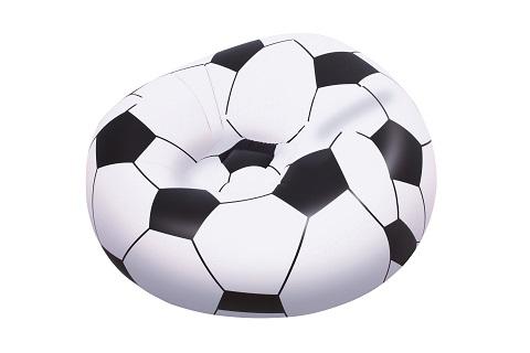 Nafukovací křeslo fotbalový míč