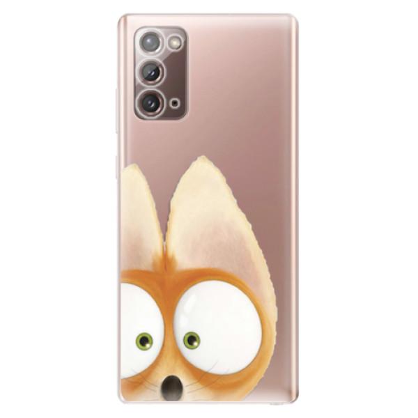 Odolné silikonové pouzdro iSaprio - Fox 02 - Samsung Galaxy Note 20