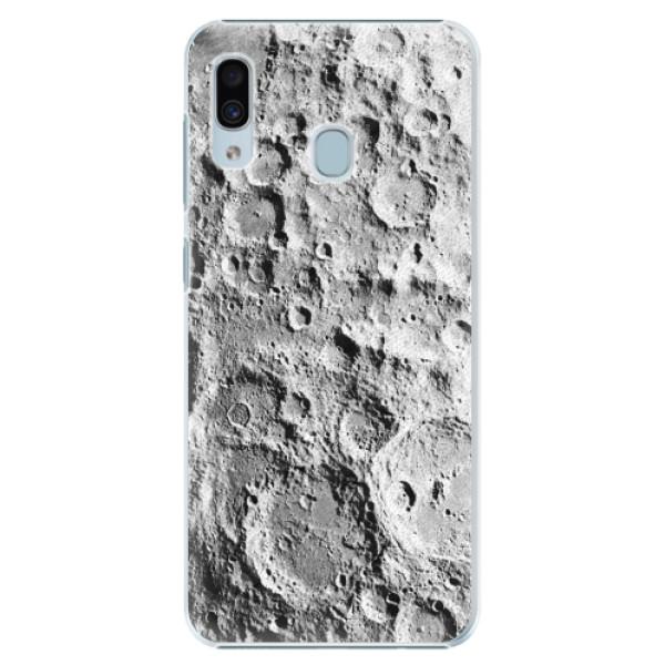 Plastové pouzdro iSaprio - Moon Surface - Samsung Galaxy A20