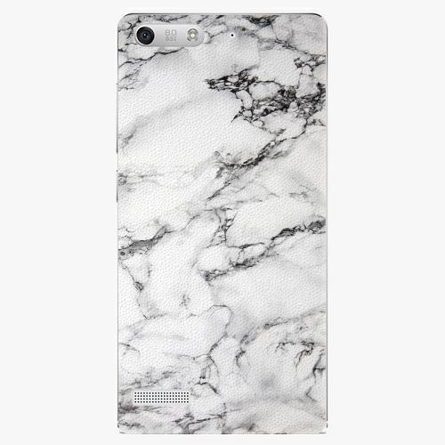 Plastový kryt iSaprio - White Marble 01 - Huawei Ascend G6