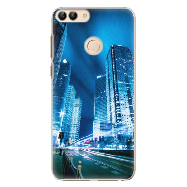 Plastové pouzdro iSaprio - Night City Blue - Huawei P Smart