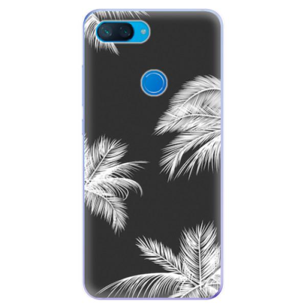 Odolné silikonové pouzdro iSaprio - White Palm - Xiaomi Mi 8 Lite