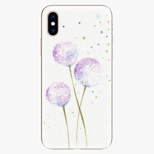 Plastový kryt iSaprio - Dandelion - iPhone XS