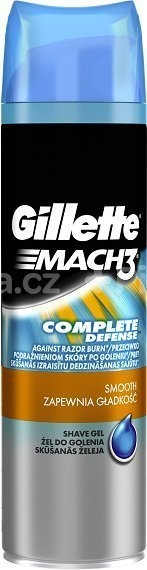 Mach3 Close&Smooth 200ml gel