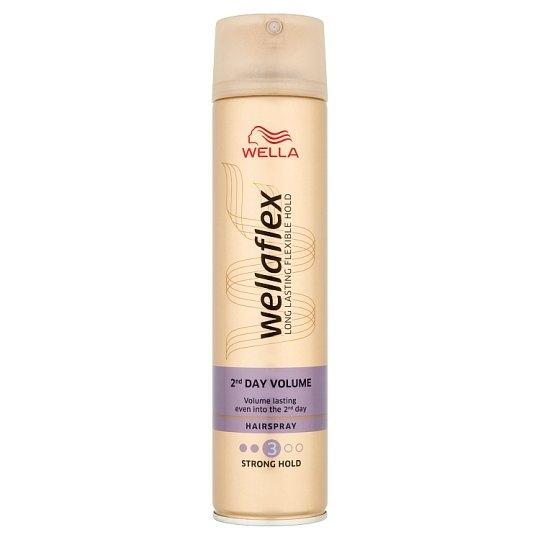 Wellaflex 2ND Day Volume pro silné zpevnění lak na vlasy 250 ml