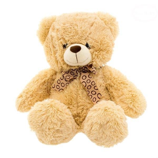 Plyšový sedící medvídek 47cm - béžový - 30 - 49 cm