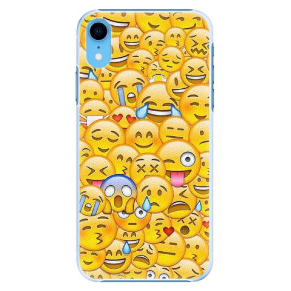 Plastové pouzdro iSaprio - Emoji - iPhone XR