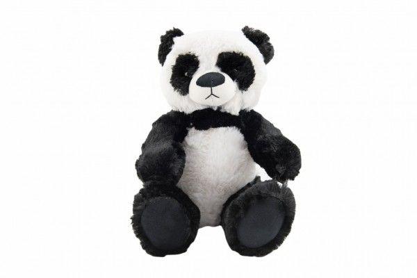 Panda medvěd/medvídek plyš 33 cm v sáčku 0+