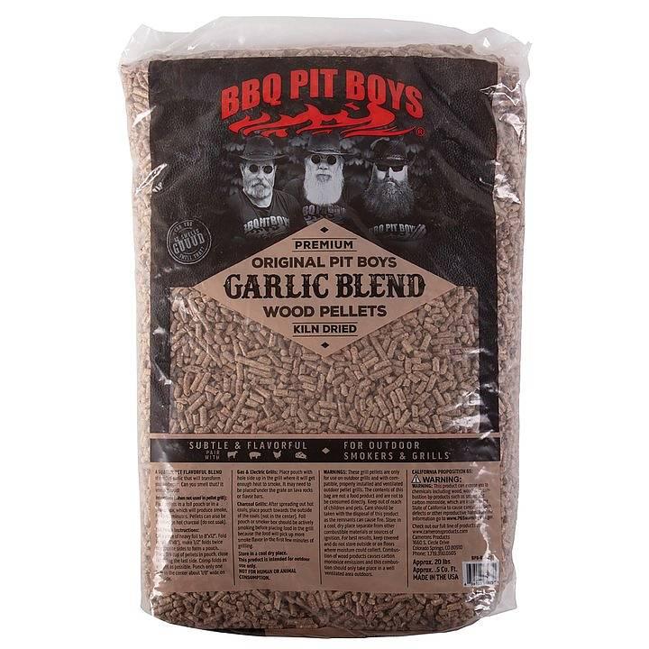 BBQ Pit Boys pelety ke grilování Garlic Blend, 9 kg