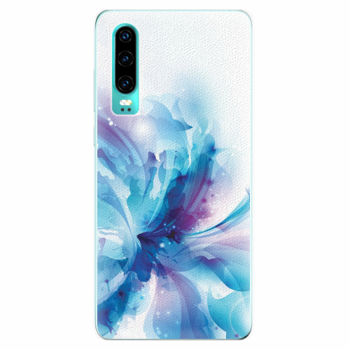 Silikonové pouzdro iSaprio - Abstract Flower - Huawei P30