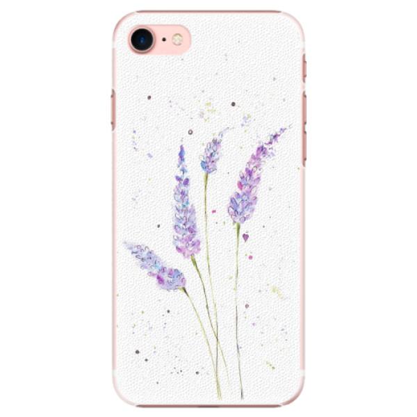 Plastové pouzdro iSaprio - Lavender - iPhone 7