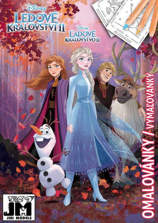 JIRI MODELS Omalovánky A4 Frozen 2 (Ledové Království)