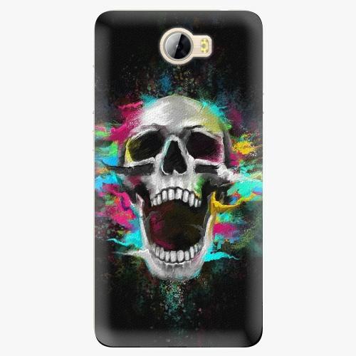 Plastový kryt iSaprio - Skull in Colors - Huawei Y5 II / Y6 II Compact