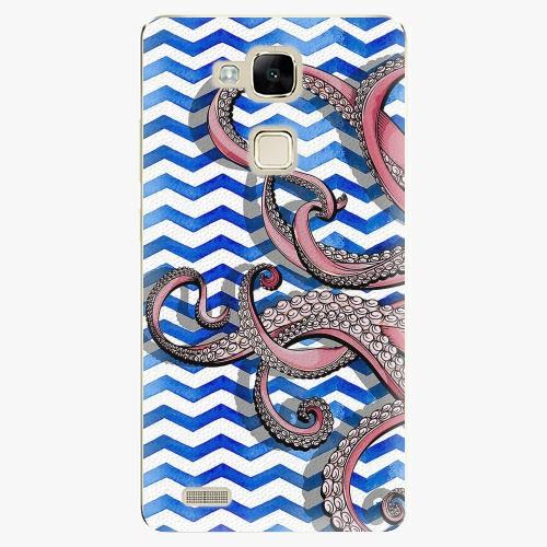 Plastový kryt iSaprio - Octopus - Huawei Mate7