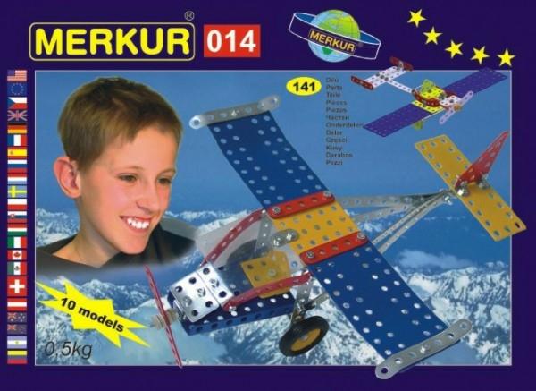 stavebnice-merkur-014-letadlo-10-modelu-141ks-v-krabici-26x18x5cm