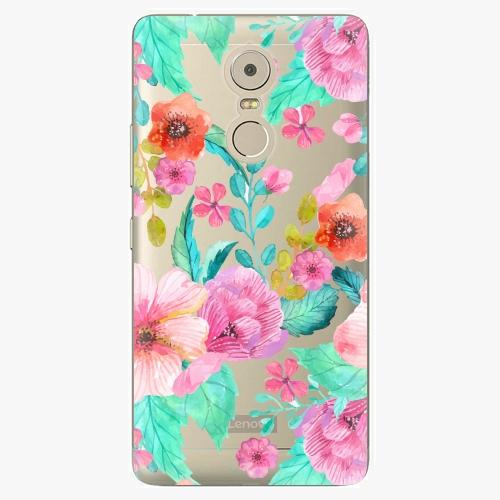 Plastový kryt iSaprio - Flower Pattern 01 - Lenovo K6 Note