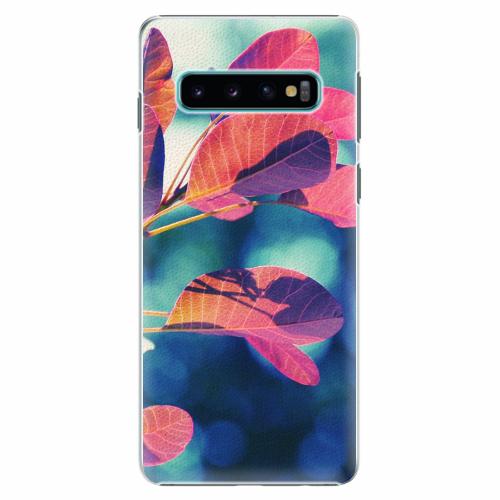 Plastový kryt iSaprio - Autumn 01 - Samsung Galaxy S10