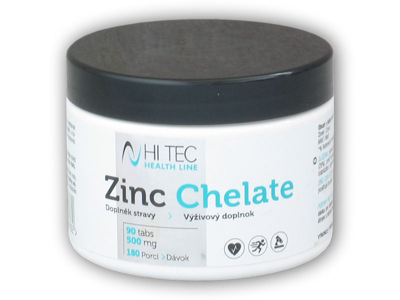 HL Zinc Chelate 500mg 90 tablet