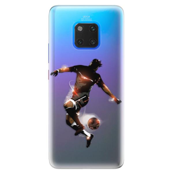 Silikonové pouzdro iSaprio - Fotball 01 - Huawei Mate 20 Pro
