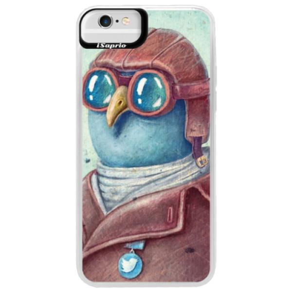 Neonové pouzdro Blue iSaprio - Pilot twitter - iPhone 6 Plus/6S Plus