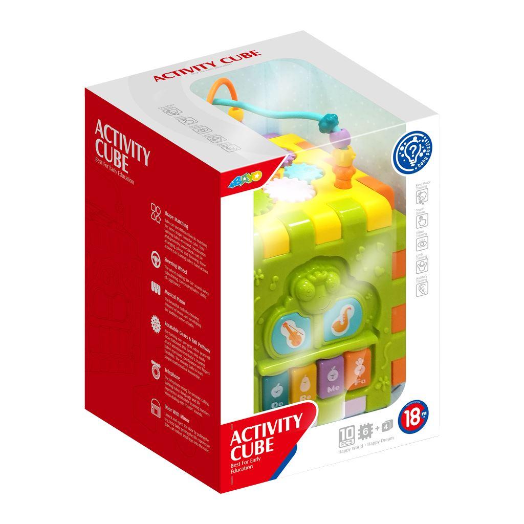Hrající interaktivní skládací kostka BAYO - multicolor
