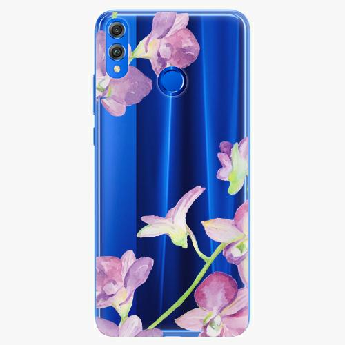 Silikonové pouzdro iSaprio - Purple Orchid - Huawei Honor 8X