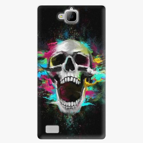 Plastový kryt iSaprio - Skull in Colors - Huawei Honor 3C