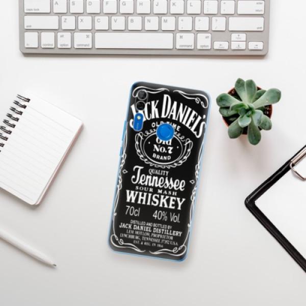 Odolné silikonové pouzdro iSaprio - Jack Daniels - Huawei P Smart Z