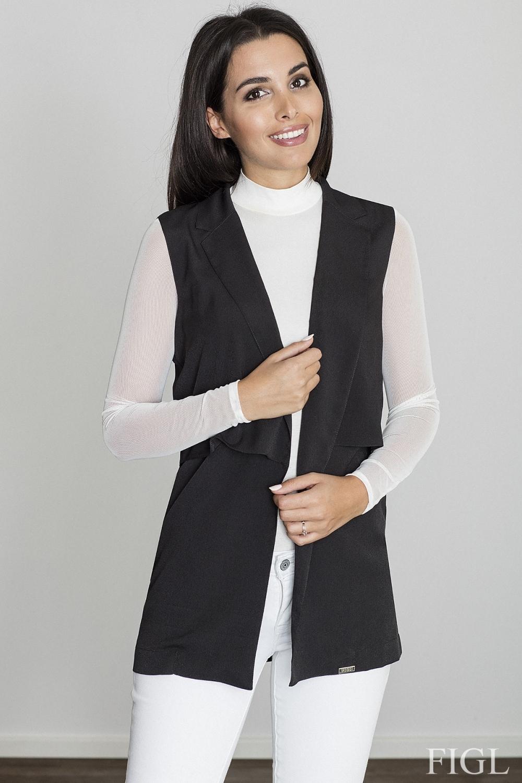 Dámská vesta M560 black - Černá/XL